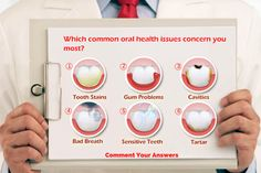 Out of all the #dental problems that exist - which ones worry you the most? Comment your answers and questions! We also invite you to visit our website www.rwdentistry.com to read about dental #treatments.   #Dentistry #PatientEducation #OralHealth ##Tartar #Stains #GumDisease #Cavitis #BadBreath #Sensitivity Invite, Invitations, Stained Teeth, Dental Problems, Bad Breath, Sensitivity, Oral Health, Cavities, Dentistry