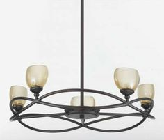 View the Triarch International 31213 Retro Chandelier with 5 Lights at Build.com.