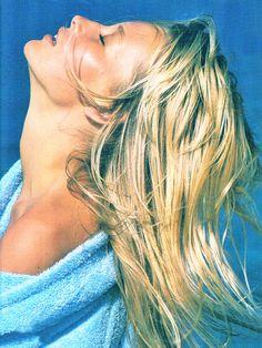 Estelle Lefebure Pho- Marc Hispard Elle France 1987