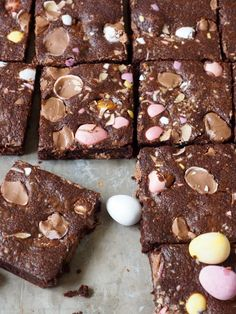 påskebrownies Mat, Sweets, Cookies, Chocolate, Baking, Desserts, Food, Blogging, Biscuits