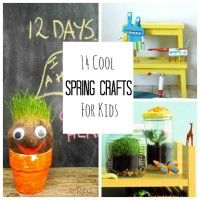Help your kiddos get their craft on with these fantastic springtime ideas!
