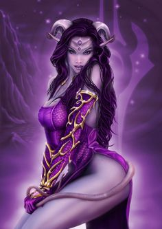 SEXY ART | draenei by HobsWork on deviantART