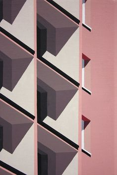 Roos van Dijk loves and paints modern architecture Art Armada - . - Roos van Dijk loves and paints modern architecture Art Armada – - Minimal Photography, Art Photography, Couple Photography, Plakat Design, Illustrator, Architecture Drawings, Contemporary Architecture, Colour Architecture, Architecture Geometric