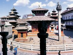 """Kathmandu Durbar Square: Kathmandu Durbar Square is a wondrous cluster of ancient temples, palaces, courtyards and streets. The most note worthy among them are the Hanuman Dhoka Palace Complex, the living goddess """"Kumariand"""" the Taleju  and Bhirab temple."""