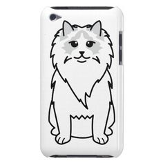 Ragdoll Cat Cartoon iPod Case