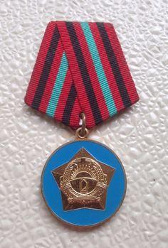 Afghanistan Service Medal for 15 years' service. Soviet Order Badge Afghan War