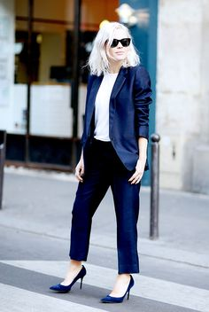 31 Polished Office Looks for Every Day of the Month via @WhoWhatWearUK
