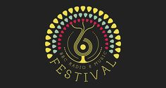 BBC 6 Music Festival | Logo Design | The Design Inspiration