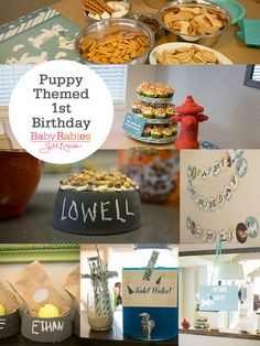 PuppyThemed1stBirthday