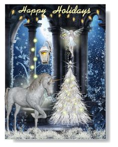 """Holiday Christmas Card~contest"" by loves-elephants ❤ liked on Polyvore featuring art, holidaygreetingcard and PVStyleInsiders"