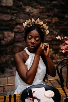 Luxury Bohemian Wedding Inspiration with Caramel, Rust & Raspberry Bohemian Wedding Inspiration, Boho Wedding, Black Dinner, Floral Texture, Boho Aesthetic, Wedding Breakfast, Bridal Shoot, Industrial Wedding, Bridal Headpieces