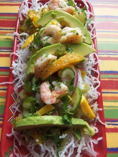 Tropical Shrimp Ceviche  - Hispanic Kitchen