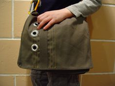 messenger bag sewing pattern / tutorial