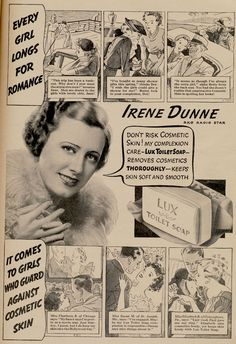 Skin Deep: It's the Hollywood way! Cheap soap.
