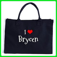 I Love Brycen. Funny Gift - Tote Bag - Totes (*Amazon Partner-Link)