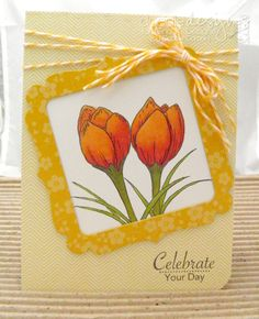 Gina K. Designs Signs of Spring set by Theresa Momber!  Card made by Debbie Corbari!  #GKD #ginakdesigns #signsofspring