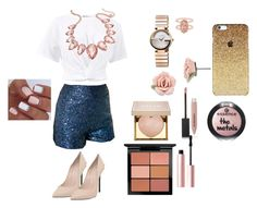 """""""Style"""" by agsage on Polyvore featuring T By Alexander Wang, Thalia Sodi, Gucci, Kendra Scott, 1928, Casadei, Burberry, Stila, Too Faced Cosmetics and MAC Cosmetics"""