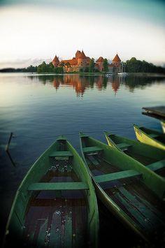Trakai, Lithuania http://www.flickr.com/photos/flavijus/623443197/sizes/o/in/photostream/