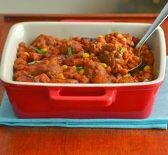 Beans & meatballs