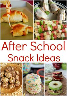After School Snack Ideas! Easy Recipes for Kids!