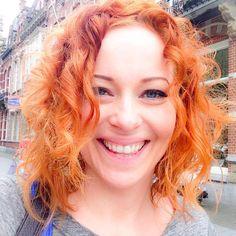 Anneke - Got my curls did! Thanks Rob Peetoom Den Bosch ❤️