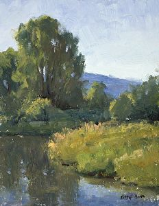 Still Water by Keith Bond Oil ~ 9 x 7