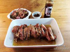 lombo de porco assado com compota de cebola