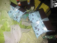 Cajas para dulces Tematica Personalizada Materiales: cartulina