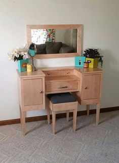 Lavish Lady II Makeup Vanity Table - 화장대 - Make up Dressing Table Vanity, Makeup Table Vanity, Diy Vanity, Vanity Ideas, Dressing Tables, Makeup Tables, Furniture Vanity, Bedroom Furniture, Furniture Design