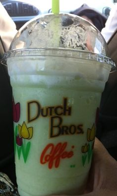 Dutch Bros. My favorite coffee stop. Try the Green Apple Smoothy! Perfection!!