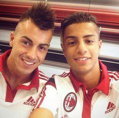 Stephan El Shaarawy & Hachim Mastour