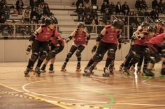 Roller Derby Porto girls