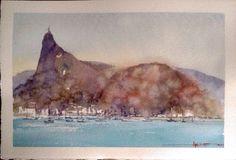 Rio de Janeiro - RJ - Brasil #watercolor #aquarela #art #painting #pintura