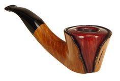 Cherry Wood Tobacco Pipe - See More Uniques pipes at WoodStonePipes.com