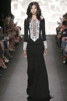 Naeem Khan Spring . Michelle Dockery, order this right the eff now.