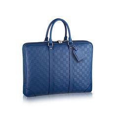 e41ed917ffe5 Porte-Documents Voyage - Damier Infini Leather - Men s Bags   LOUIS VUITTON  Briefcases,