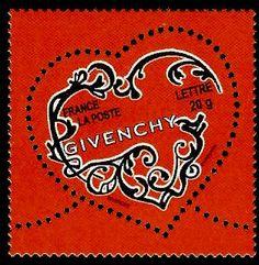 ♥ ◙ France, Postage Stamp 2007. ◙ (lovely shape)