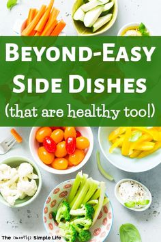 Look at this list of quick and easy side dishes you can have for dinner Theyre healthy cheap fast and super simple It doesnt get much better than that including lots of. Roasted Veggies In Oven, Grilled Veggies, Easy Meal Prep, Quick Easy Meals, Healthy Fruits, Healthy Recipes, Best Side Dishes, Bbq Party, Just Cooking