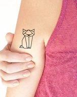 Un chat origami