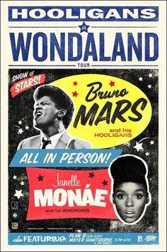 Bruno Mars Janelle Monae
