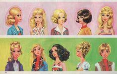 Barbie Panini sticker album. France, 1976