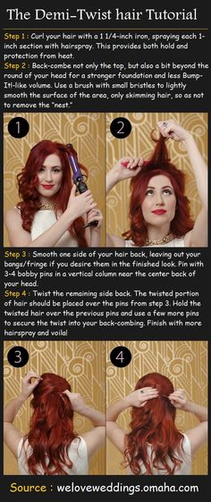 The Demi-Twist hairstyle Tutorial | Beauty Tutorials