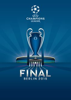 2015 UEFA Champions League Final, Berlin OFICIAL POSTER - VIA UEFA