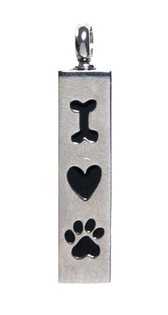 #Love #Buddy #Keepsake Love Vial - Fill with ashes or fur, or anything you wish!