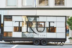 The 'Try-on Truck for True & Co., designed by Mobile Office Architects and Spiegel Aihara Workshop