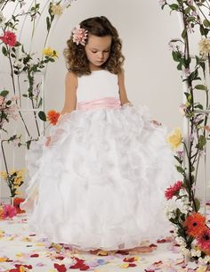 amazing flowergirl dress