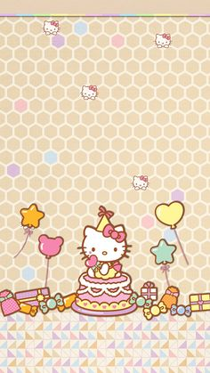 (PS: shadow-free for non jai. Hello Kitty Theme Party, Hello Kitty Themes, Hello Kitty Pictures, Hello Kitty Birthday, Hello Kitty Backgrounds, Hello Kitty Wallpaper, Free Iphone Giveaway, Hello Kitty Collection, Sanrio Hello Kitty