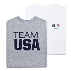 Price: $21.00 - BMW Team USA Olympic Tee - Mens - White - Large - TO ORDER, CLICK THE PHOTO