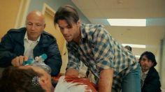 Dr.Goran !!! yumm first scene comes riding in like a badass! Joel