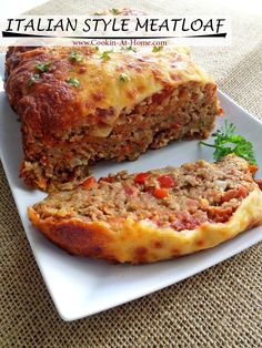Cooking at Home: Italian Style Meatloaf